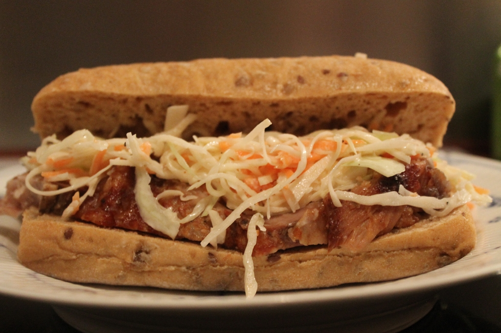 Pulled Pork og Coleslaw