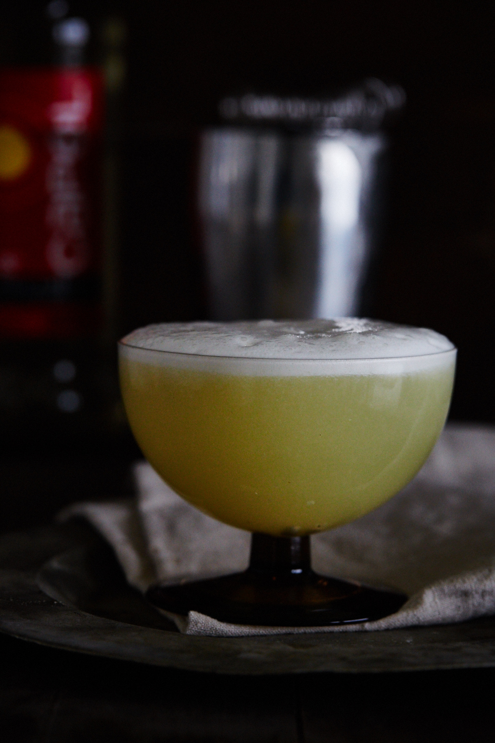 Pisco Sour - Min favorit cocktail.